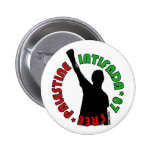 Free Palestine Intifada Button
