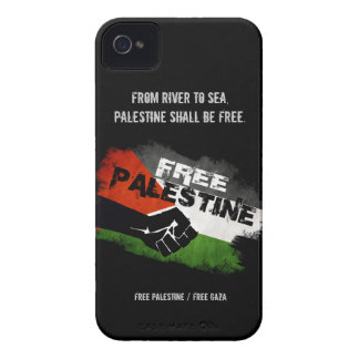 Free Palestine iPhone 4 Case-Mate Cases