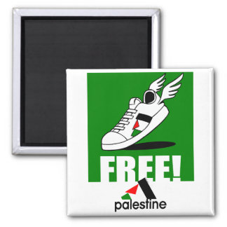 Free! Palestine Magnet