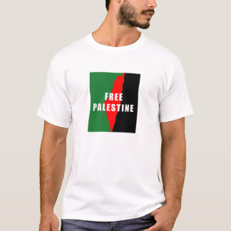 Free Palestine Map Mens TShirt