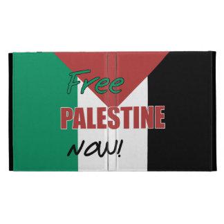 Free Palestine Now Palestinian Flag iPad Folio Covers