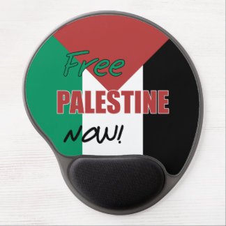 Free Palestine Now Palestinian Flag Gel Mouse Mats