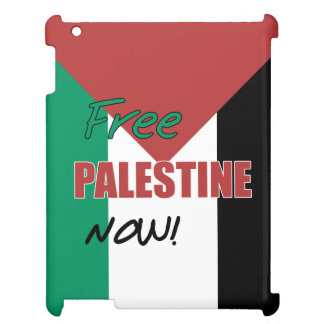 Free Palestine Now Palestinian Flag iPad Cover