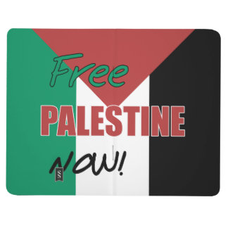 Free Palestine Now Palestinian Flag Journal