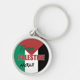 Free Palestine Now Palestinian Flag Key Chain