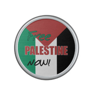 Free Palestine Now Palestinian Flag Bluetooth Speaker