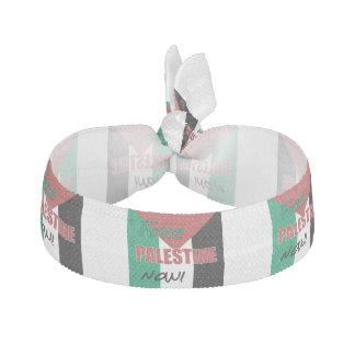 Free Palestine Now Palestinian Flag Elastic Hair Ties
