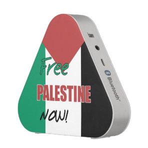Free Palestine Now Palestinian Flag Speaker