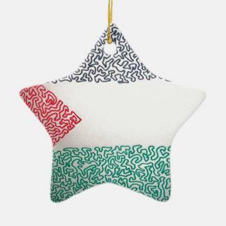 Free Palestine Christmas Ornament