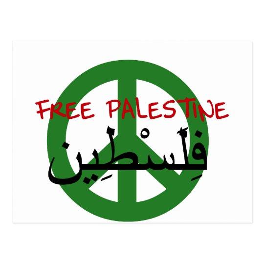 Free Palestine Postcard