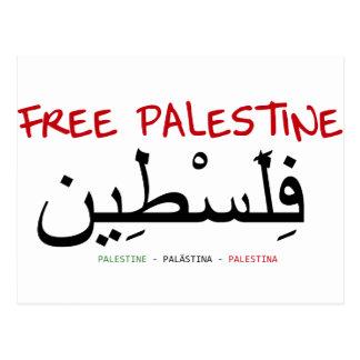 Free Palestine Post Cards