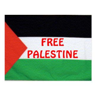 FREE PALESTINE Postcare Postcard