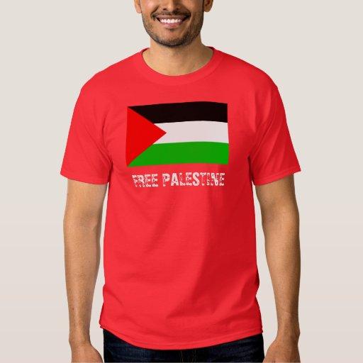 Free Palestine Red T-Shirt