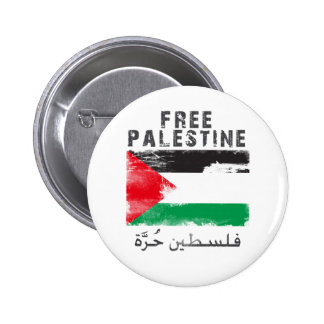 Free Palestine shirt 2 Inch Round Button