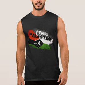 Free Palestine Sleeveless Shirt