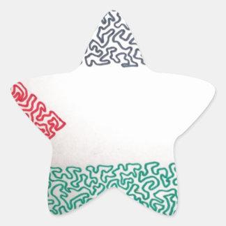 Free Palestine Star Sticker