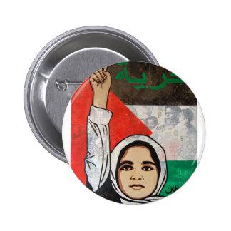 Free Palestine- Viva Palestina Pinback Button