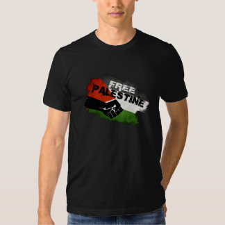 Free Palestine - We Exist (rear print) Shirts