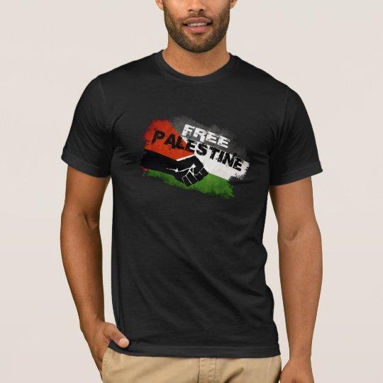 Free Palestine - We Exist (rear print) T-Shirt