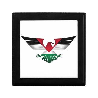 FREE PALESTINE - WINGS OF FREEDOM KEEPSAKE BOX