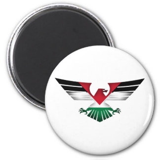 FREE PALESTINE - WINGS OF FREEDOM MAGNET