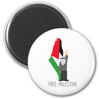 Free Palestine with the right of return Magnet