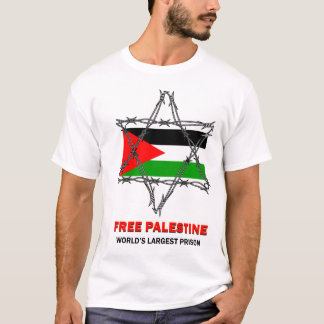 FREE PALESTINE: World's Largest Prison T-Shirt