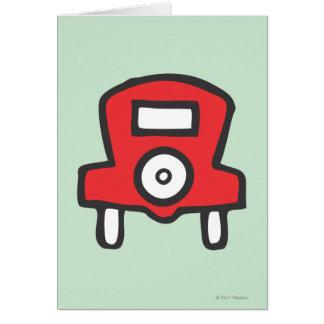 Free Parking Greeting Card