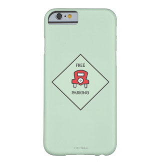 Free Parking Corner Square Barely There iPhone 6 Case