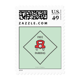 Free Parking Corner Square Stamps