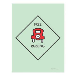 Free Parking Corner Square Postcard