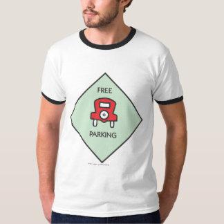 Free Parking Corner Square Tee Shirt