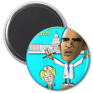 Free Patty from Strings 2 Inch Round Magnet