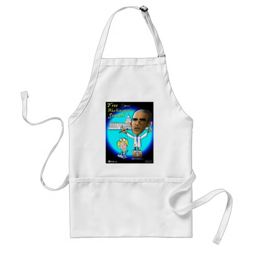 Free Patty from Strings Adult Apron