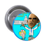Free Patty from Strings Pinback Button