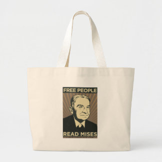 Free people Read Mises Canvas Bag