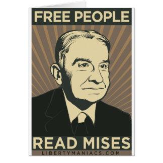 Free people Read Mises Card