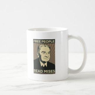 Free people Read Mises Coffee Mug