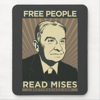 Free people Read Mises Mouse Pad