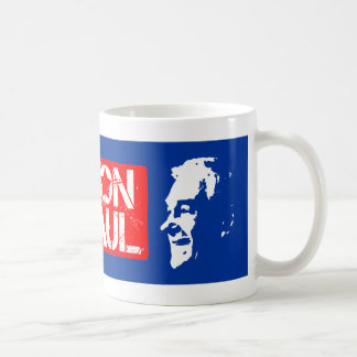 Free people vote for Ron Paul Coffee Mug