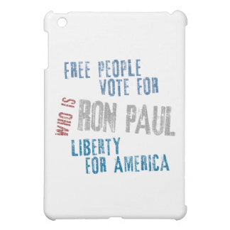 Free people vote for Ron Paul iPad Mini Covers