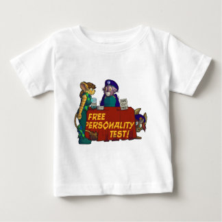 """""""Free Personality Test!"""" Babies' T-Shirt"""