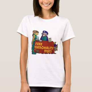 """""""Free Personality Test!"""" Baby Doll T-Shirt"""