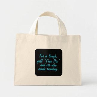 Free Pie (sq) Bag