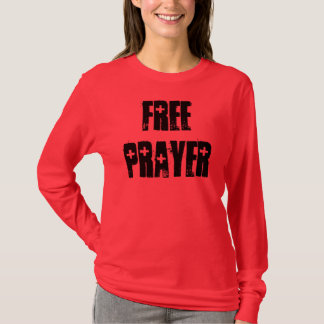 FREE PRAYER- RED AID T-Shirt