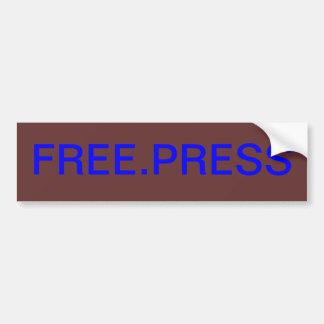 FREE.PRESS PEGATINA PARA AUTO