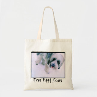 Free Puppy Kisses Cute Dog Bag