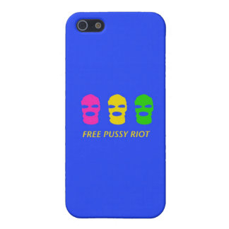Free Pussy Riot Cover For iPhone 5/5S