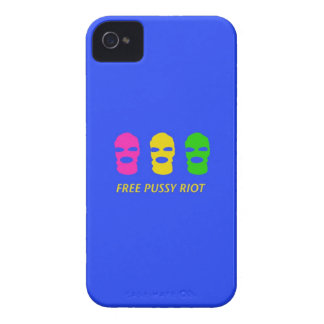 Free Pussy Riot iPhone 4 Case