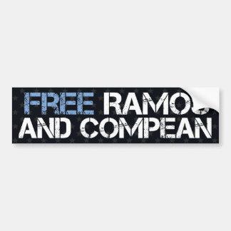 Free Ramos and Compean Car Bumper Sticker
